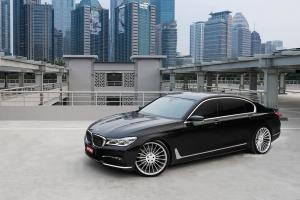BMW 750Li xDrive by Permaisuri on Forgiato Wheels (TEC MONO 1.1) 2018 года