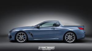 2018 BMW 8-Series Pickup by X-Tomi Design