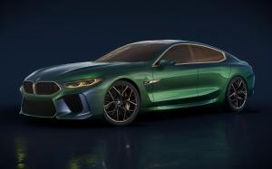 BMW Concept M8 Gran Coupe 2018 года