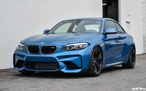 BMW M2 Coupe Long Beach Blue Pearl by EAS 2018 года