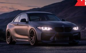 BMW M2 Coupe by 3RA Motorwerks on HRE Wheels (FF01) 2018 года