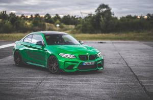 2018 BMW M2 Coupe on HRE Wheels (FF01)