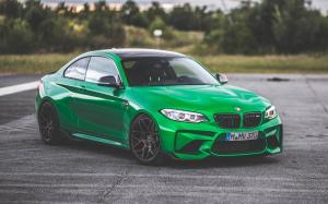 BMW M2 Coupe on HRE Wheels (FF01) 2018 года