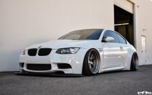 2018 BMW M3 Coupe Alpine White by Liberty Walk and EAS