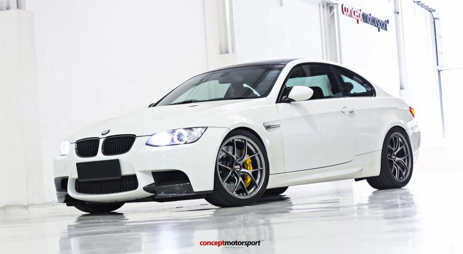 BMW M3 Coupe by Concept Motorsport on BBS Wheels