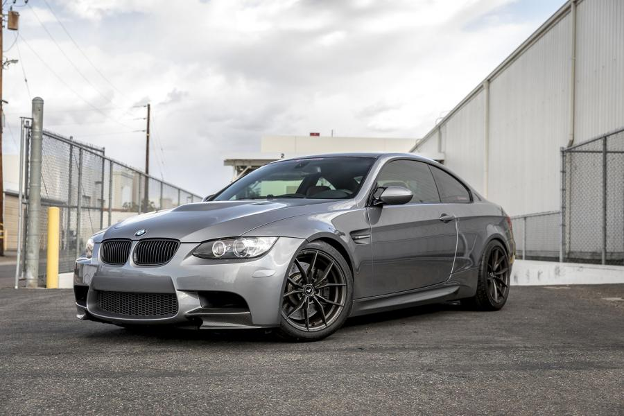 BMW M3 Coupe by Supreme Power on Vorsteiner Wheels