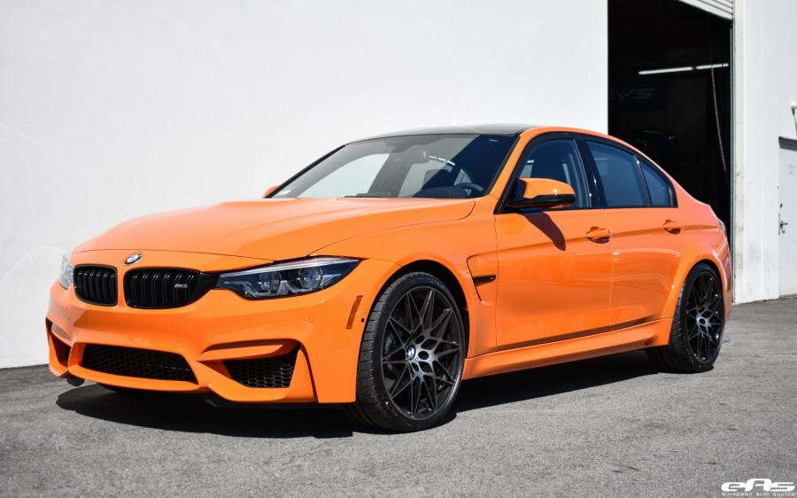 BMW M3 Sedan Fire Orange by EAS