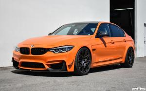 2018 BMW M3 Sedan M Performance Fire Orange by EAS