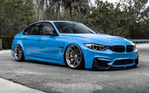 BMW M3 Sedan X Work on Vossen Wheels (VWS-1)