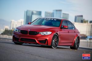 BMW M3 Sedan by Dinan on Vossen Wheels (VWS-2) 2018 года