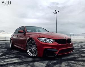 BMW M3 Sedan on ADV.1 Wheels (ADV10.0 TRACK FUNCTION) 2018 года