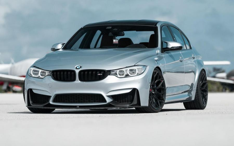 BMW M3 Sedan on Vossen Wheels (S17-01)
