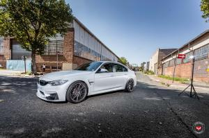 2018 BMW M3 Sedan on Vossen Wheels (VPS-307T)