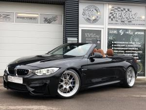 BMW M4 Convertible by TVW Car Design on BBS Wheels 2018 года