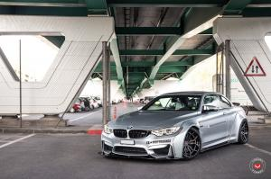 2018 BMW M4 Coupe by Liberty Walk on Vossen Wheels (HC-3 (3 Piece))
