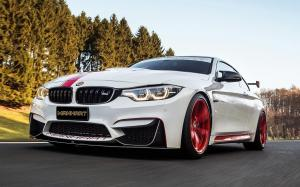 BMW M4 MH4 550 by Manhart Racing 2018 года