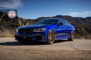 2018 BMW M5 on HRE Wheels (RC104)