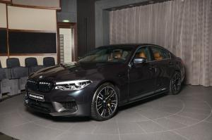 2018 BMW M5 with M Performance Parts by Abu Dhabi Motors