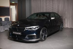 2018 BMW M550i xDrive Sedan by AC Schnitzer and Abu Dhabi Motors