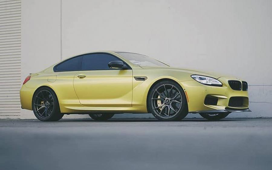 BMW M6 Coupe on Vorsteiner Wheels (V-FF 103) '2018