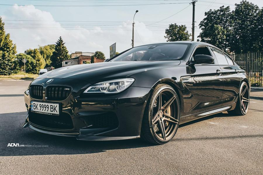 BMW M6 Gran Coupe on ADV.1 Wheels (ADV05 M.V2 SL) '2018
