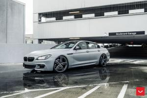 2018 BMW M6 Gran Coupe on Vossen Wheels (HF-1)
