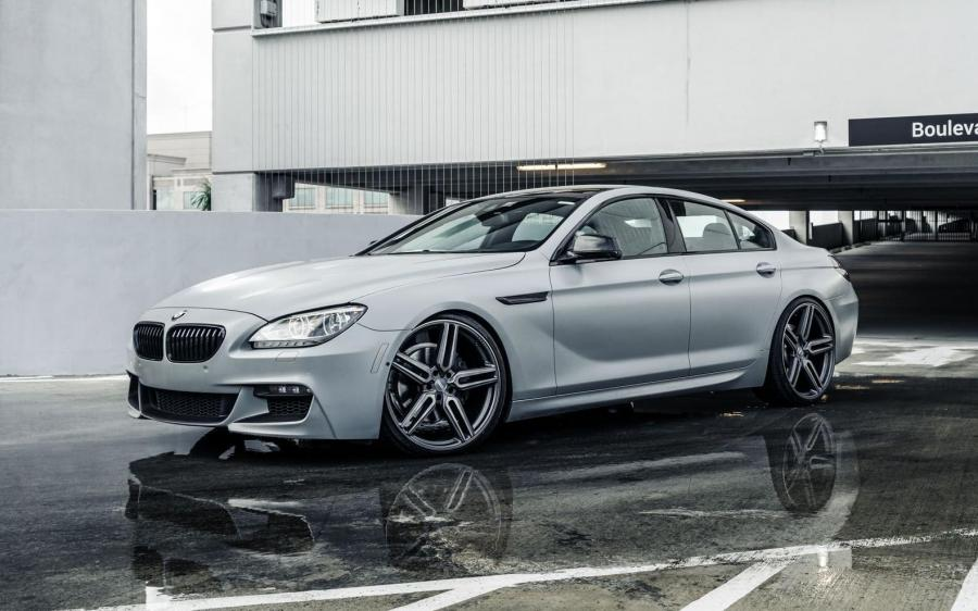 BMW M6 Gran Coupe on Vossen Wheels (HF-1) '2018