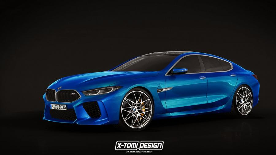 BMW M8 Gran Coupe by X-Tomi Design