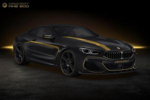 2018 BMW M850i MH8 600 by Manhart Racing