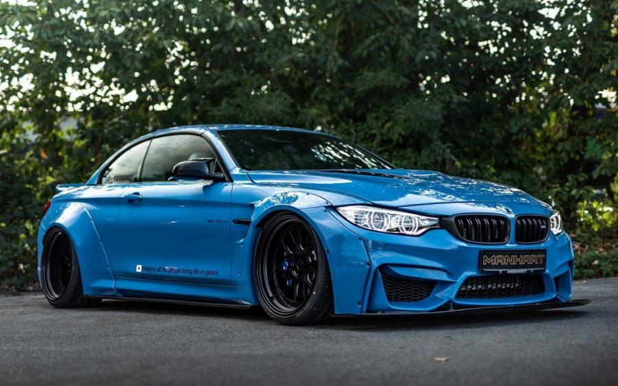 2018 BMW MH4 700 LW Convertible by Manhart Racing
