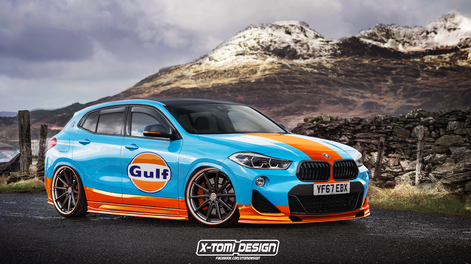 BMW X2 by X-Tomi Design