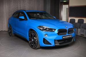 2018 BMW X2 sDrive20i M Sport Package Misano Blue by Abu Dhabi Motors