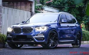 BMW X3 xDrive20i on Premier Edition Wheels (CS-10 FF) 2018 года