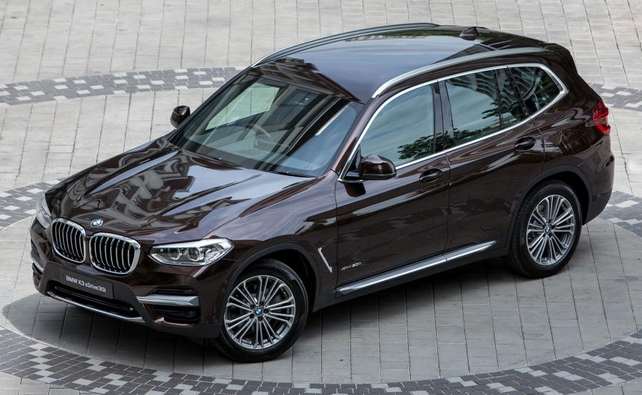 2018 BMW X3 xDrive30i Luxury Line (MY)