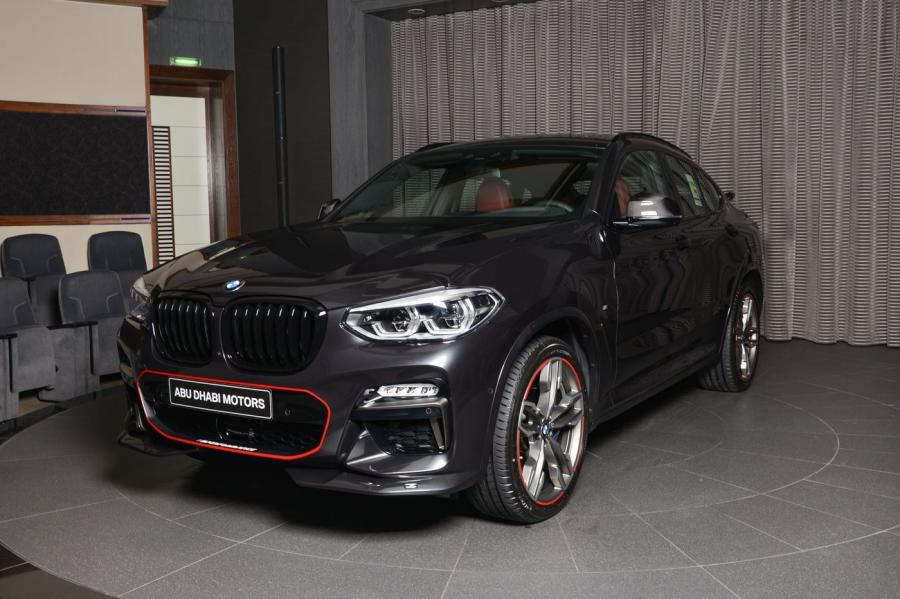 2018 BMW X4 M40i by Abu Dhabi Motors