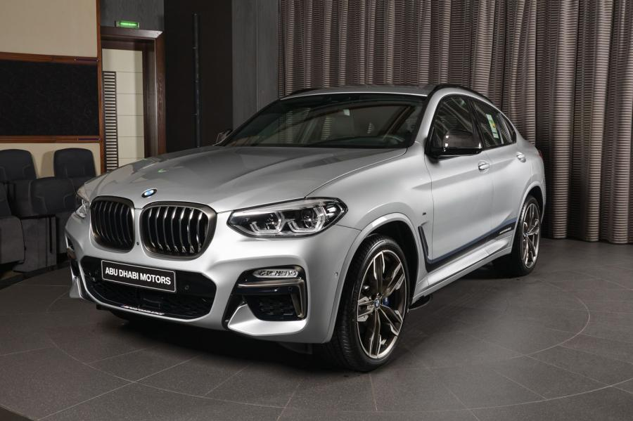 2018 BMW X4 M40i with M Performance Accessories by Abu Dhabi Motors