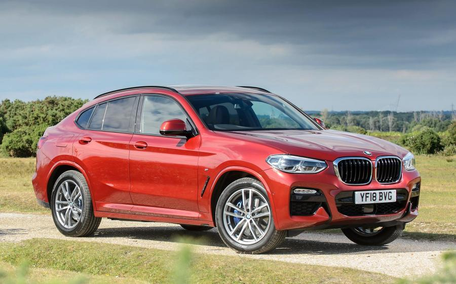 2018 BMW X4 xDrive20d M Sport (UK)