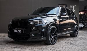 BMW X5 B6 Bulletproof by RACE! on Vossen Wheels 2018 года