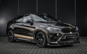 BMW X6 M MHX6 800 by Manhart Racing and Carlex Design 2018 года