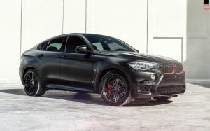 BMW X6 M by MC Customs on HRE Wheels 2018 года