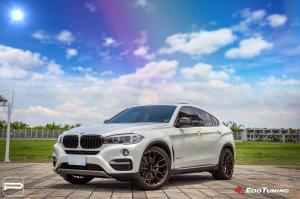 BMW X6 by EdoTuning on PUR Wheels (RS29.EVO) 2018 года