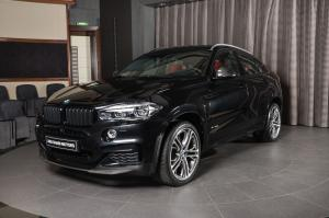 BMW X6 xDrive50i M Performance by Abu Dhabi Motors 2018 года