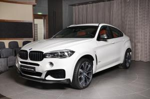 BMW X6 xDrive50i with M Performance Body Kit by Abu Dhabi Motors