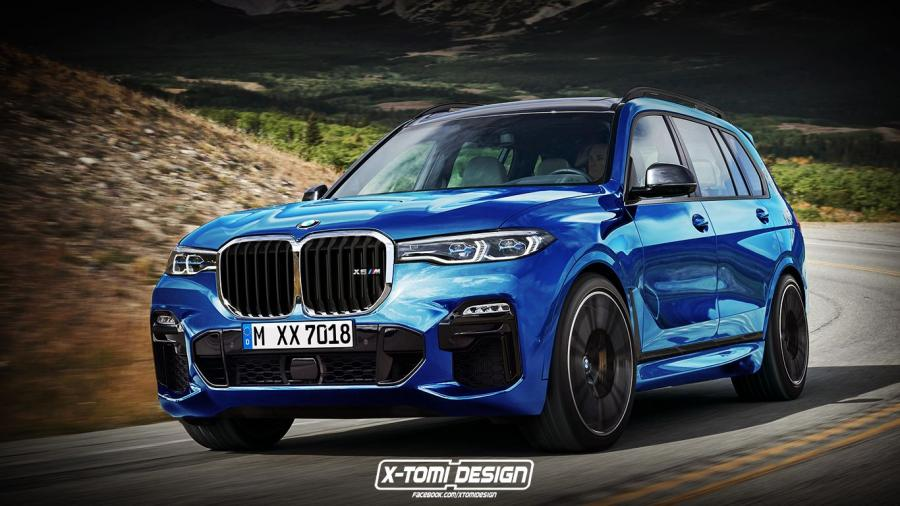 BMW X7 M by X-Tomi Design
