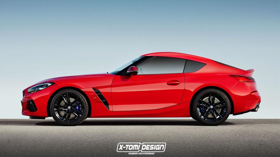 BMW Z4 M40i Coupe by X-Tomi Design