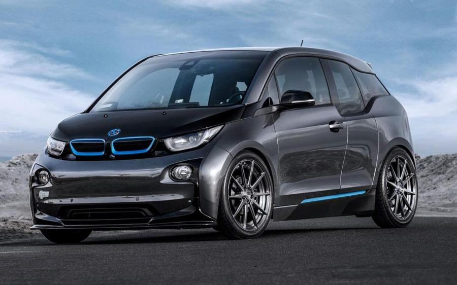 BMW i3 Mineral Grey on ADV.1 Wheels (ADV10 M.V2 SL)