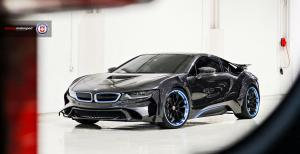 BMW i8 Energy Evo by Concept Motorsport on HRE Wheels (S201H) 2018 года