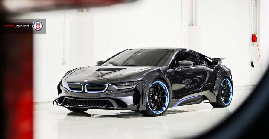 BMW i8 Energy Evo by Concept Motorsport on HRE Wheels (S201H)