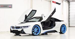 BMW i8 by Concept Motorsport on HRE Wheels (P204) 2018 года