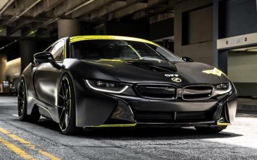 BMW i8 by Impressive Wrap